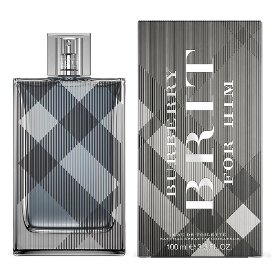 102ee59eb6 Perfume Brit For Him Masculino Burberry Eau de Toilette 100ml - Incolor