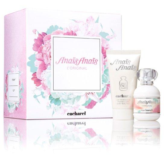 6ac117ac4a Kit Perfume Feminino Anaïs AnaïsCacharel Eau de Toilette 30ml + Loção  Hidratante 50ml - Incolor