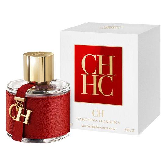 d67cd5bf8254a Carolina Herrera Perfume Feminino CH EDT 100ml - Incolor - Compre ...