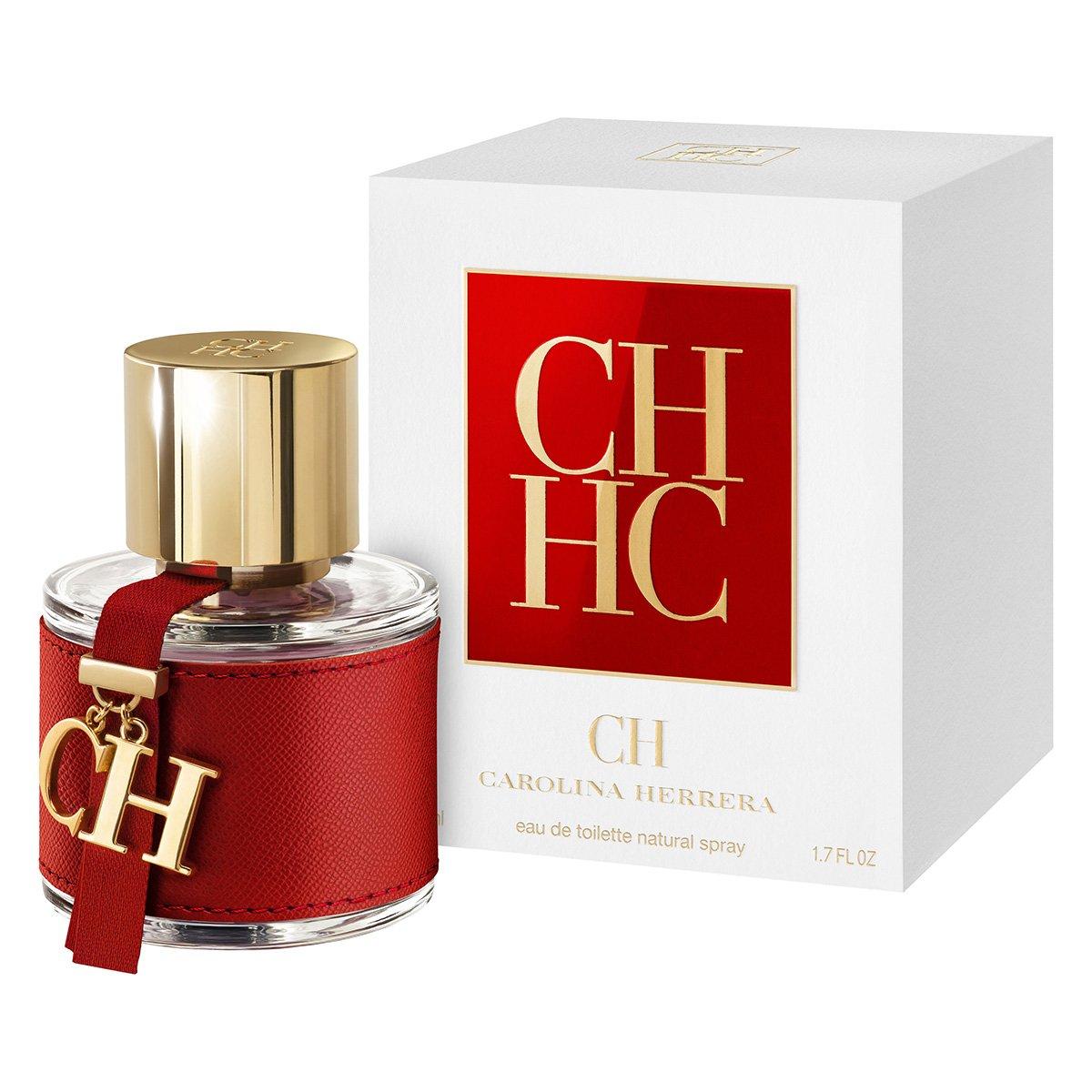 Perfume Feminino CH Carolina Herrera Eau de Toilette 50ml