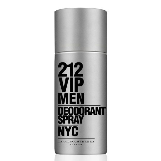 Desodorante 212 VIP Men Carolina Herrera Spray 150ml - Compre Agora ... 5dd0dc56b2