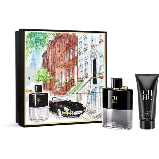16b1eaeeb Carolina Herrera Kit Perfume Masculino CH Men Privé 100 ml + Pós Barba 100ml  - Incolor
