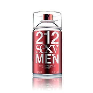 Body Spray 212 Sexy Men Masculino Carolina Herrera 250ml