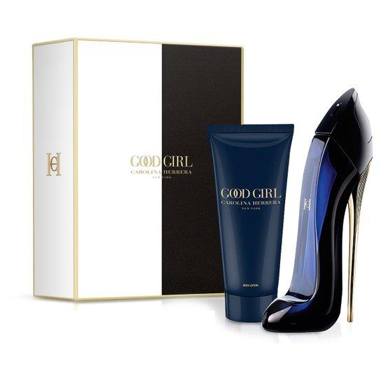 Carolina Herrera Kit Perfume Feminino Good Girl EDP 80ml + Loção Corporal  100ml - Incolor 41158a6270