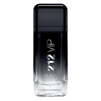 Perfume 212 VIP Black Masculino Carolina Herrera EDP 100ml