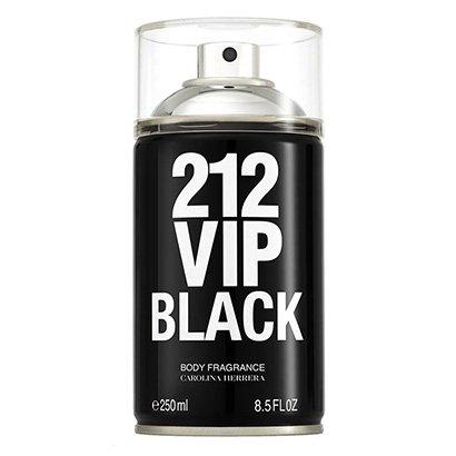 Body Spray Masculino 212 VIP Men Black Carolina Herrera 250ml