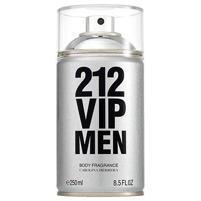 Body Spray Masculino 212 VIP Men Carolina Herrera 250ml
