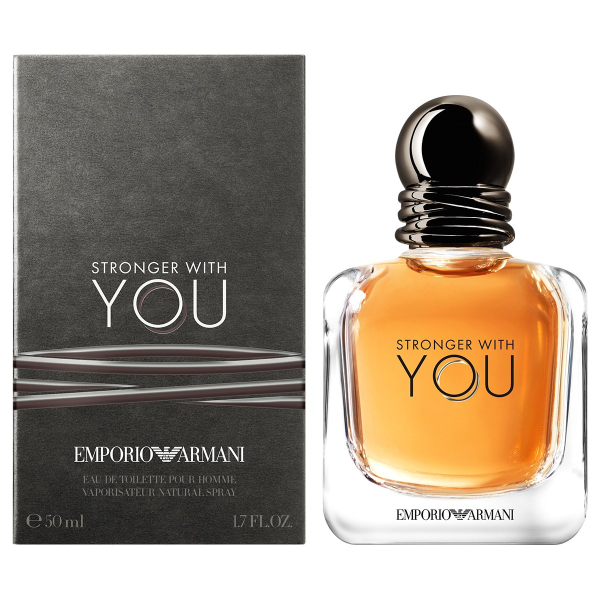 b3452ad4d FornecedorNetshoes. Perfume Stronger with You Masculino Giorgio Armani EDT  50ml