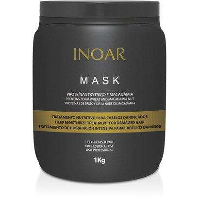 Inoar Máscara de Hidratação Mask Proteínas do Trigo e Macadâmia 1Kg