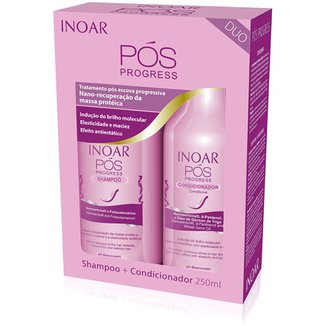 Kit Inoar Duo Pós Progress Shampoo 250ml + Condicionador 250ml 403ab4bc62