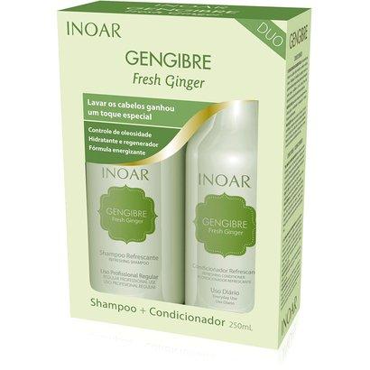 Kit Inoar Gengibre Duo Shampoo 250 ml + Condicionador 250ml