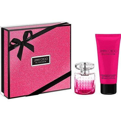 Kit Perfume Feminino Jimmy Choo Blossom 60ml EDP + Body Lotion 100ml
