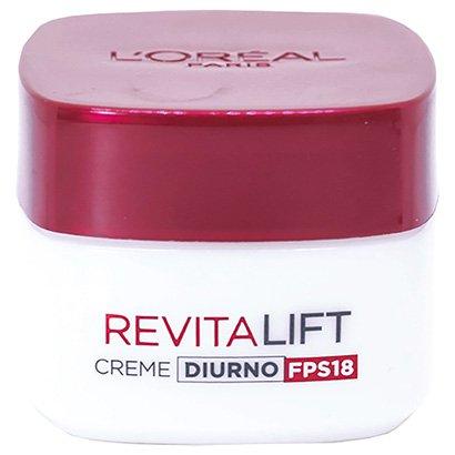 Creme Anti Idade Facial L'Oréal Paris Revitalift Creme Diurno FPS18 49g