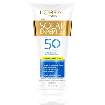 Protetor Corporal L'Oreal Paris Solar Expertise Supreme Protect 4 FPS 50 200ml