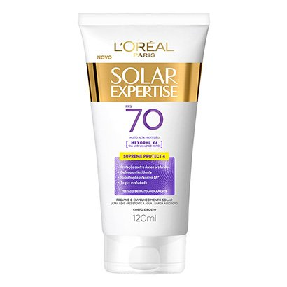 Protetor Corporal L'Oreal Paris Solar Expertise Supreme Protect 4 FPS 70 120ml