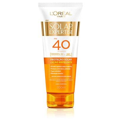 Protetor Solar L'Oréal Paris Solar Expertise Supreme Protect Repelente FPS 40...