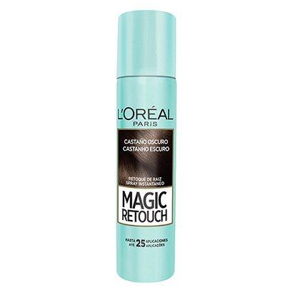 Retoque de Raiz L'Oréal Paris Magic Retouch Spray Instantâneo Castanho Escuro...