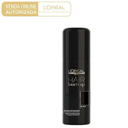 Corretivo Instantâneo L'Oreal Professionnel Hair Touch Up Black 75ml