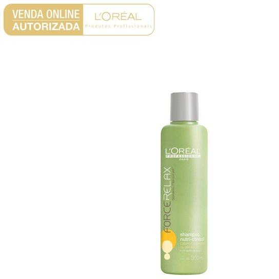 64b078e13 L'Oréal Professionnel Shampoo Force Relax Nutri Control 300ml - Incolor
