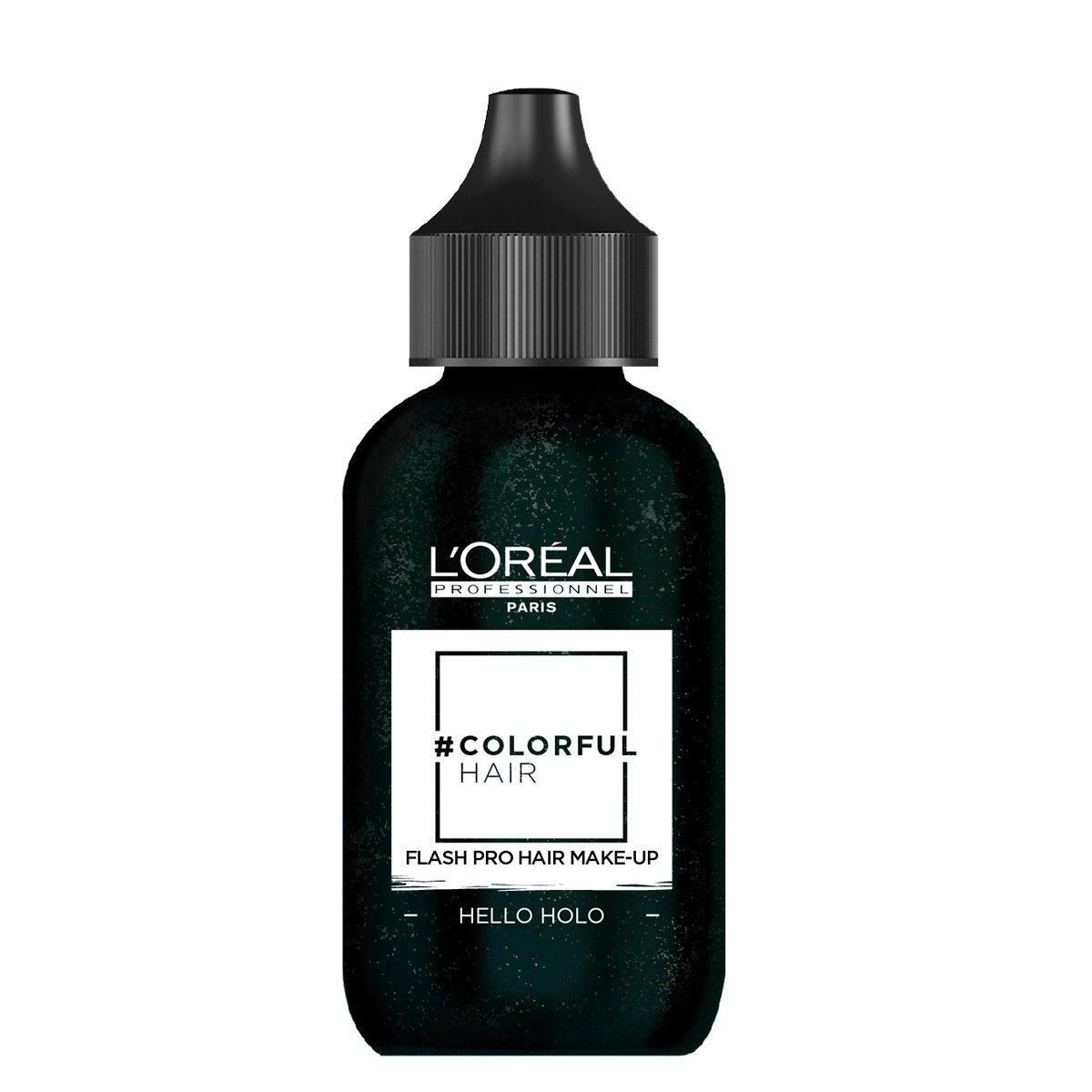 Coloração Temporária L'Oréal Professionnel Colorful Hair FLASH Pro Hair Make-Up Cor Hello Holográfic