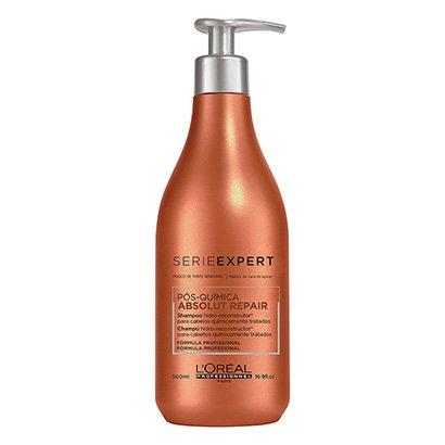 Shampoo L'Oréal Profissionnel Serie Expert Absolut Repair Pós-Química 500ml