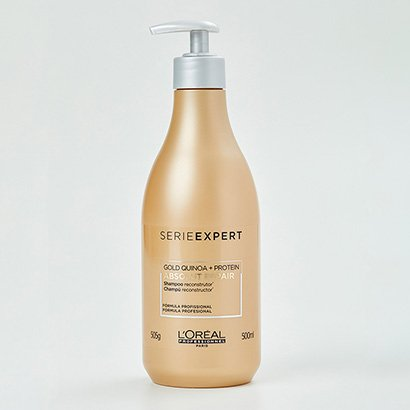 Shampoo L'Oréal Professionnel Absolut Repair Gold Quinoa + Protein - 500ML