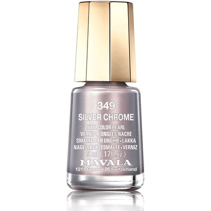 Mini Esmalte Mavala Color Silver Chrome