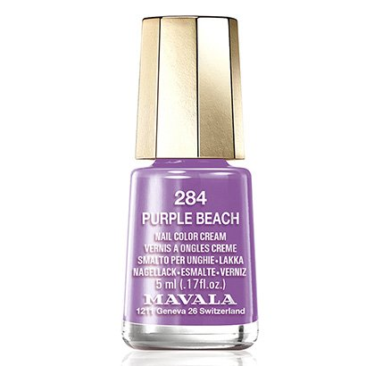 Mini Esmalte Cremoso Mavala Color Purple Beach 284 5ml