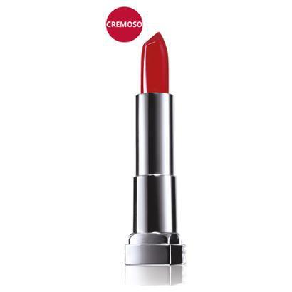 Batom Cremoso Maybelline Color Sensational cor 307 Vou de Vermelho