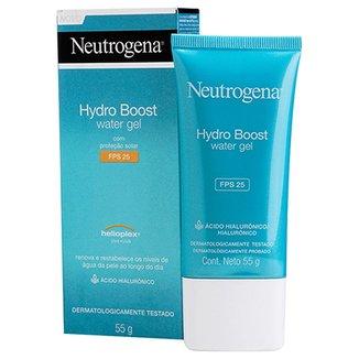 37eac5df33 Gel Hidratante Facial Neutrogena Hydro Boost Water Gel FPS 25 55g