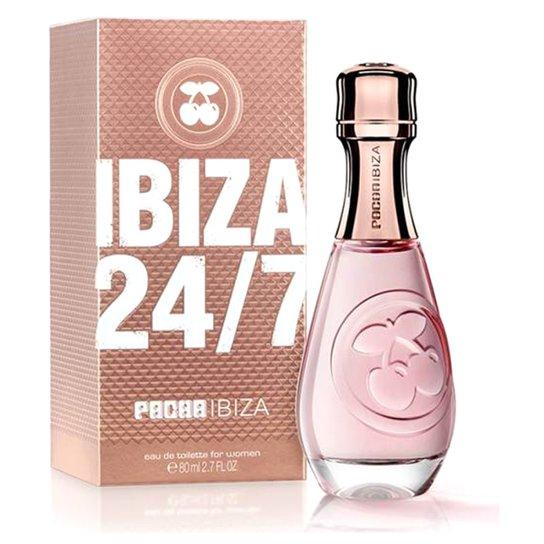 40376ccf7 Perfume Feminino 24/7 Pacha Ibiza Eau de Toilette 80ml - Incolor ...