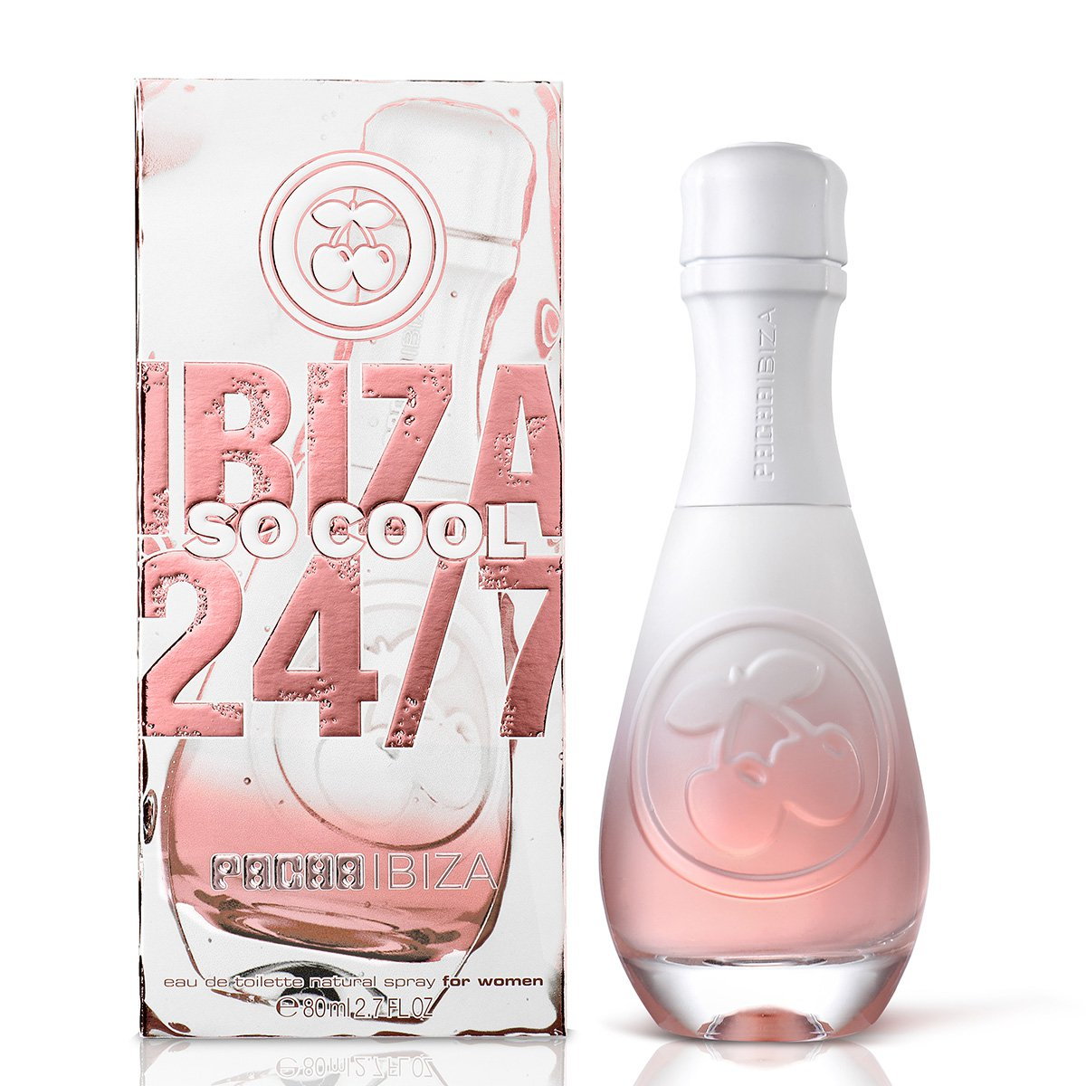 Perfume Pacha Ibiza 24/7 So Cool Feminino Eau de Toilette 80ml