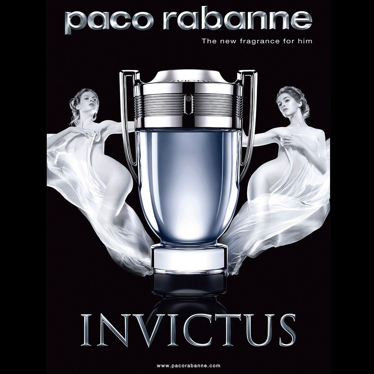 Perfume Masculino Invictus Paco Rabanne Eau de Toilette 100ml - 3