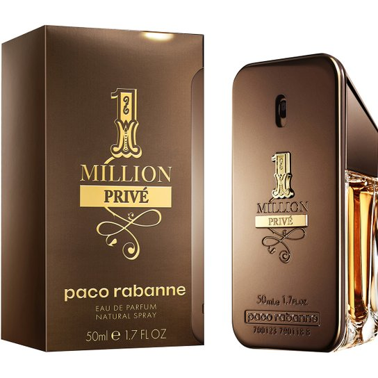 8be847495 Perfume One Million Privé Masculino Paco Rabanne EDP 50ml - Incolor ...