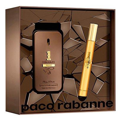 Kit Perfume Masculino 1 Million Privé Paco Rabanne Eau de Parfum 50ml +...