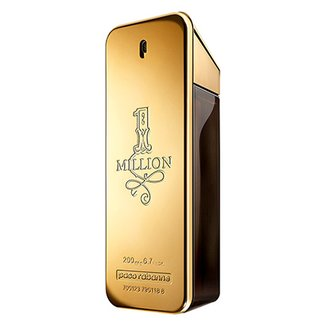 Perfume One Million Masculino Paco Rabanne Eau de Toilette 200ml
