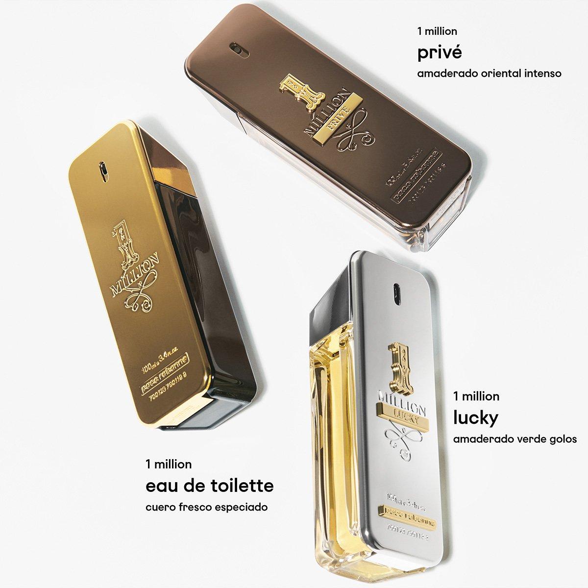 Perfume Masculino One Million Paco Rabanne Eau de Toilette 200ml - 2