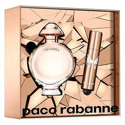 Kit Perfume Feminino Paco Rabanne Olympéa Eau de Parfum 50ml + Miniatura 10ml