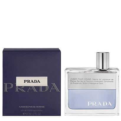 Perfume Amber Pour Homme Masculino Prada EDT 50ml