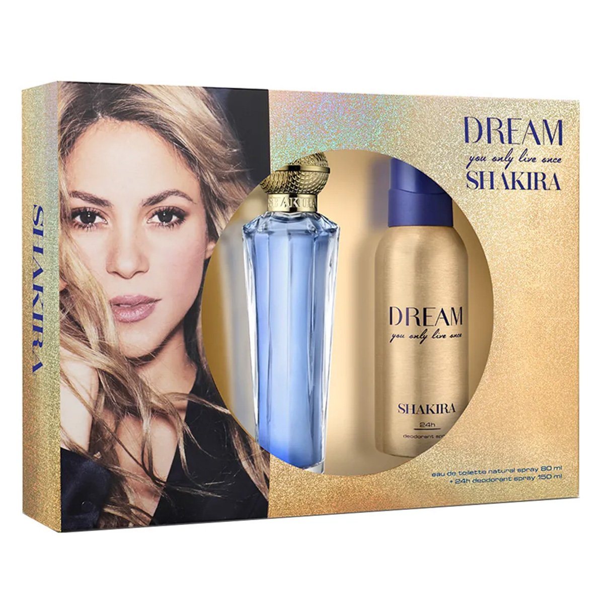 Shakira Dream Kit - Eau de Toilette 80ml + Desodorante 150ml