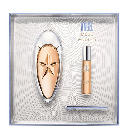 Kit Perfume Feminino Angel Muse Thierry Mugler Eau de Parfum 50ml + Miniatura...