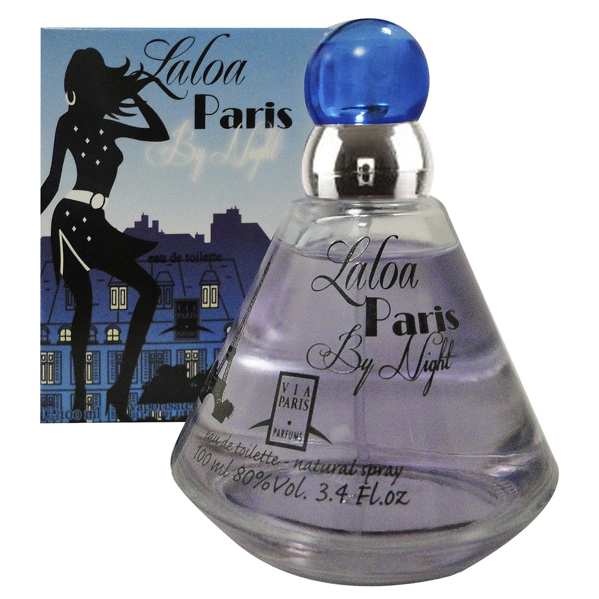 f650a52a1d9 Perfume Laloa Paris By Night EDT Feminino 100ml