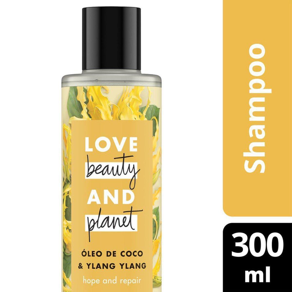 Shampoo Hope and Repair Óleo de Coco & Ylang Ylang Love Beauty and Planet 300ml