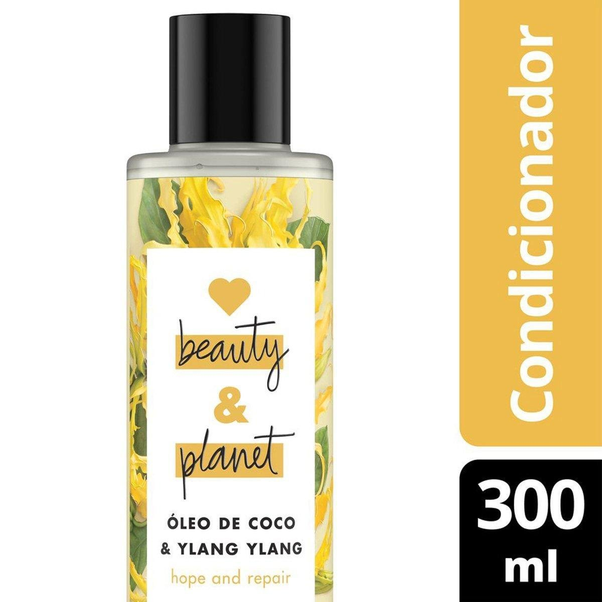 Condicionador Hope and Repair Óleo de Coco & Ylang Ylang Love Beauty and Planet 300ml