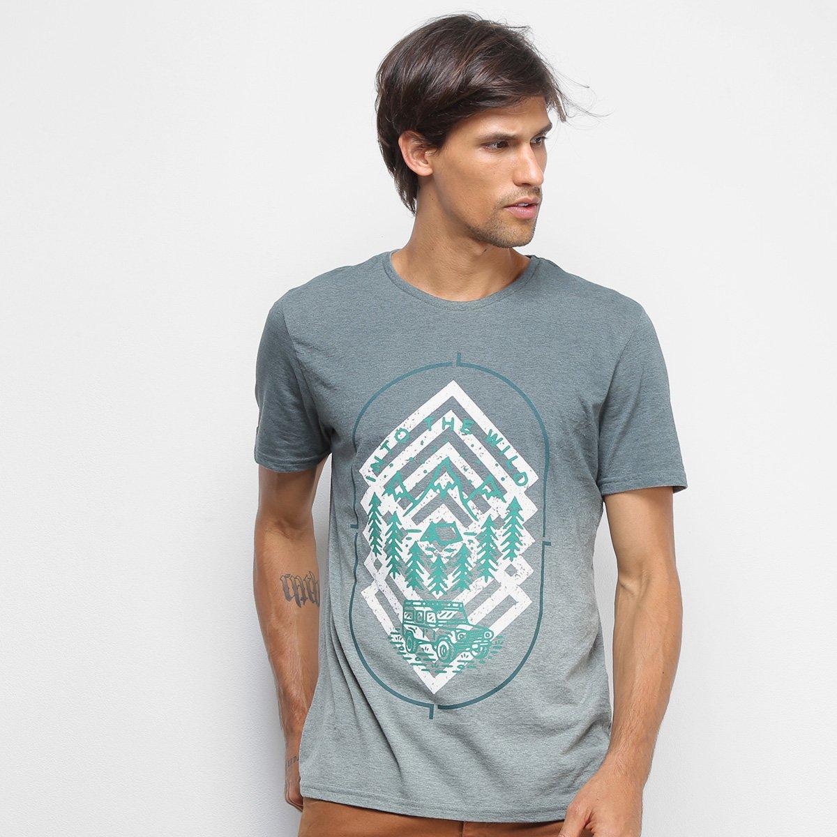 Camiseta Treebo Into The Wild Masculina