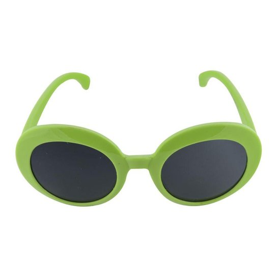Óculos de Sol Khatto Infantil Bruninha Retrô Feminino - Verde ... 2fbd18ab43