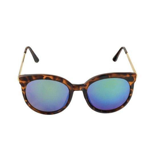 Óculos de Sol Khatto Elegancy Feminino - Verde - Compre Agora   Netshoes bcd1a07f88