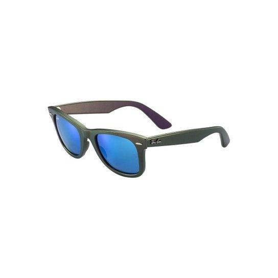 Óculos de Sol Ray Ban Wayfarer Cosmo - Verde - Compre Agora   Netshoes cb90815fc4