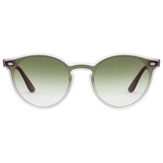 25d3e3334 Óculos de Sol Ray-Ban Blaze Round RB4380N - Tartaruga 710/13/37 ...