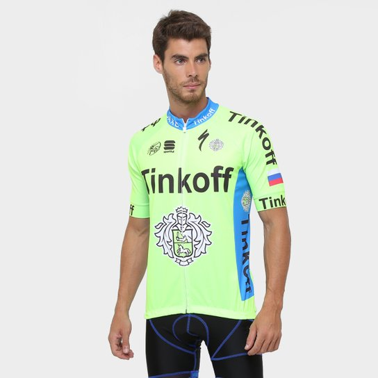 17192fdedd50d Camiseta Refactor World Tour Tinkoff - Compre Agora   Netshoes